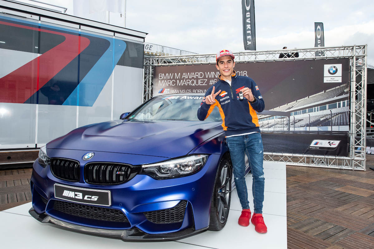 Marquez Wins The Fastest Qualifier BMW For The 6th Time
