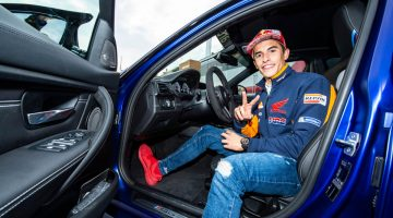 MotoGP Star Marquez Wins A New BMW M3 For The 6th Time